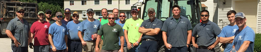 Ciardelli propane installation crew at Westchester Heights, Milford NH